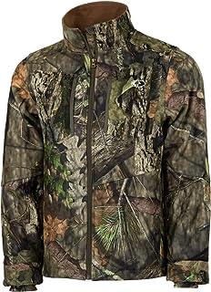 Mossy Oak Men's Camo Sherpa 2.0 Fleece Lined Hunting Jacket