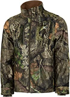Mossy Oak Men's Camo Sherpa 2.0 Fleece Lined Hunting Jacket