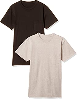 [ベルバシーン] 2パックTシャツ クルーネック ポケット付 (160920) Made in USA 160920 メンズ