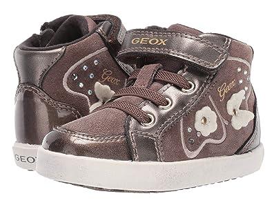 Geox Kids Kilwi 62 (Toddler) (Smoke Grey) Girls Shoes