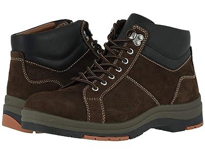 Johnston & Murphy Cahill Lace-to-Toe Boot (Dark Brown Oiled Waterproof Nubuck) Men