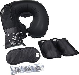 Herschel Slippers, Eyemask & Pillow