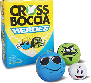 Crossboccia Unisex's Heroes 2 x 3 Foar 2 Spilers Mexican and Dude Set, Multi-Colour, Small
