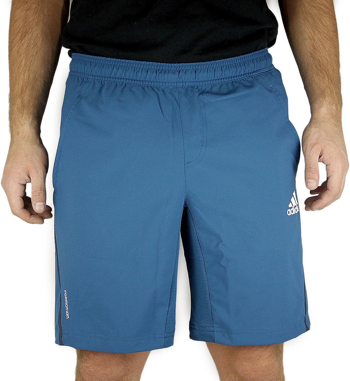 Adidas Barricade Tennis Short  Tribe bluee White  Mens