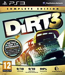 DiRT 3 Complete Edition Game PS3