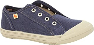 Vulladi Spain MEX Fashion Sneakers Boys Blue Jeans/Toddler Boys to Youth Boys