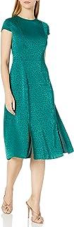 Ted Baker Women's Bellana Short Sleeve Jacquard Midi Dress