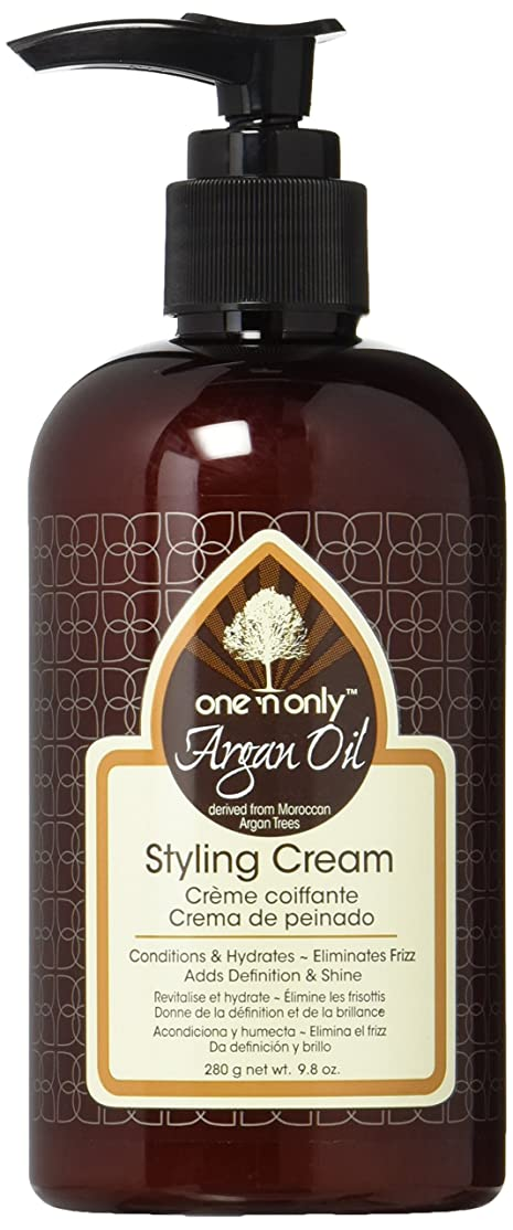 怠抱擁愚かArgan Oil Styling Cream Pump Leave-In 295 ml (並行輸入品)