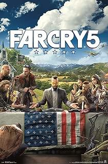 Trends International Far Cry 5 - Key Art Wall Poster, 22.375