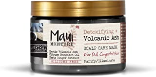 Maui Moisture Detoxifying + Volcanic Ash Scalp Care Mask, 12 Oz
