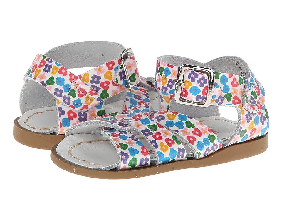 Salt Water Sandal by Hoy Shoes The Original Sandal (Infant/Toddler) (Floral) Girls Shoes