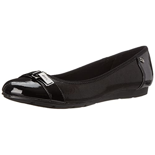 7461fb102290 Anne Klein Sport Women s Able Fabric Ballet Flat