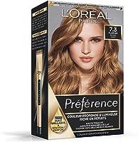L'Oréal Paris Préférence Coloration Permanente Cheveux, Nuance : Floride (7.3), Blond Doré