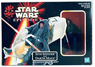 Star Wars Episode I: The Phantom Menace, Sith Speeder and Darth Maul Action Figure