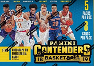 2018/19 Panini CONTENDERS Basketball NBA RETAIL BLASTER Box - 5 Packs 40 Cards -1 Memorabilia or Autograph FACTORY SEALED