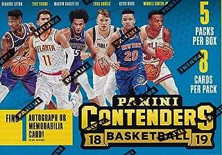 2018/19 Panini CONTENDERS Basketball NBA RETAIL BLASTER Box - 5 Packs 40 Cards -1 Memorabilia or Autograph FACTORY SEALED