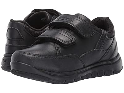 Geox Kids Jr Xunday 3 (Toddler/Little Kid) (Black Oxford) Boys Shoes
