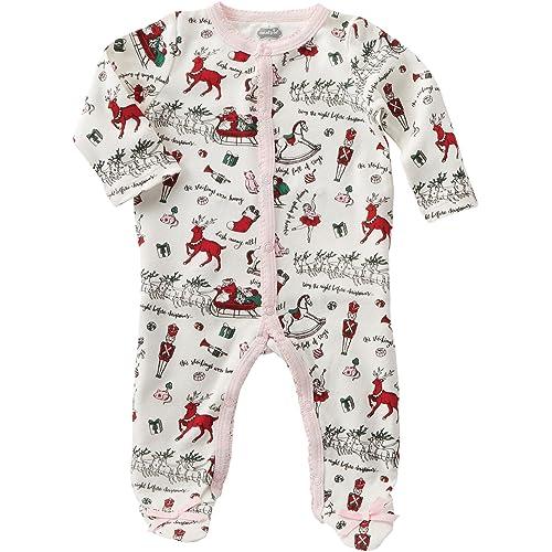 6a40a1633 Mud Pie Womens Very Merry Christmas Sleeper (Infant)