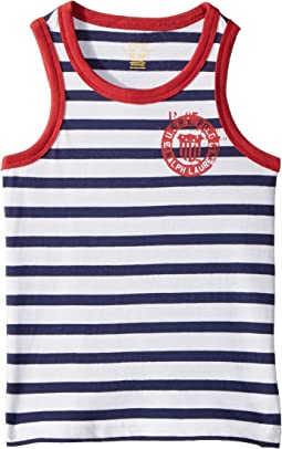 Cotton Jersey Graphic Tank Top (Toddler)