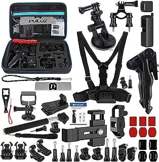 مجموعة أدوات الكاميرا، مجموعة إكسسوارات 43 في 1 تتضمن حزام الصدر/قاعدة تثبيت بالشفط / حامل حامل ثلاثي القوائم / حامل مقبض ...