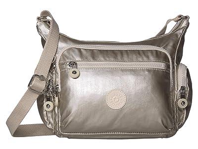 Kipling Gabbie Small Crossbody Bag (Cloud Metal) Handbags