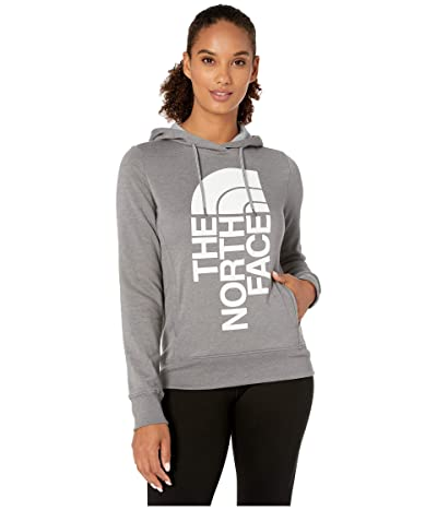 The North Face Triver Pullover Hoodie (TNF Medium Grey Heather/TNF White) Women