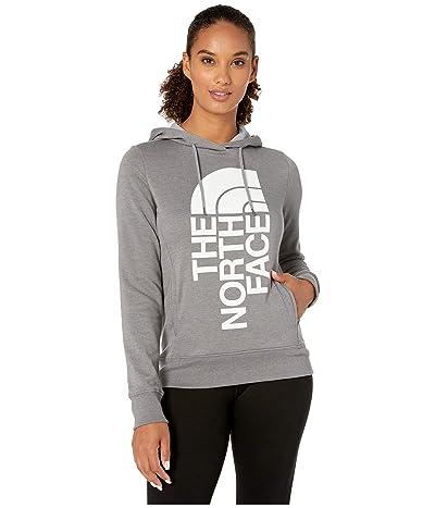 The North Face Trivert Pullover Hoodie (TNF Medium Grey Heather/TNF White) Women