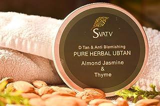 SVATV - Ayurvedic Herbal Ubtan:: 100 g :: Made in India (Almond Jasmine & Thyme)