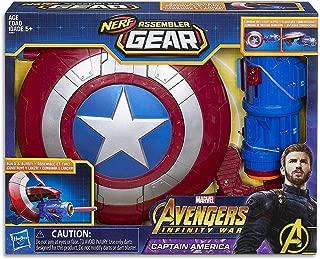 Marvel Avengers: Infinity War Nerf Captain America Assembler Gear