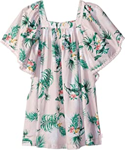 Seafolly Kids - Hawaiian Rose Angel Dress Cover-Up (Toddler/Little Kids)