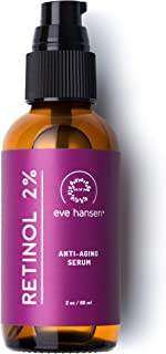 Sponsored Ad - Eve Hansen Retinol Serum for Face 2% | (2oz) Facelift in a Bottle Wrinkle Filler Pore Minimizer Anti Aging ...