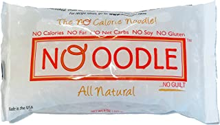 NOoodle No Carb Pasta, Noodle Alternative, Zero Calories, Gluten Free, Keto Friendly, Best Tasting Shirataki Noodles (Angel Hair, 12-pack)