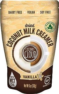 Coconut Cloud: Shelf Stable Vegan Coffee Creamer | Keto Friendly, Unsweetened Coconut Milk Powder | Low Sugar, Dairy Free,...