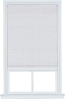 The Shade & Shutter Factory Kodiak Cordless Matchstick Bamboo Roman Shades (White 23 in. W x 72 in. L)