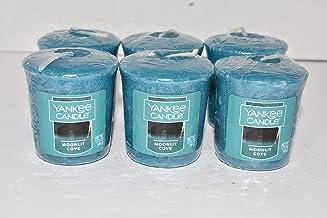 شمعة من 6 شموع نذرية من يانكي كاندل مونليت كوف بحجم 50 مل