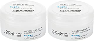 GIOVANNI COSMETICS Eco Chic Wicked Texture - The Definition Of Pomade, 2 Ounce / 60 Milliliter ( PACK OF 2 )