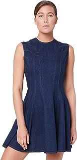 Karen Walker Women's Serapis Panelled Dress