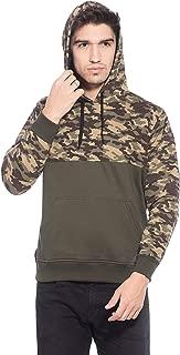 Alan Jones Men's Camouflage Cotton Hooded Sweatshirt