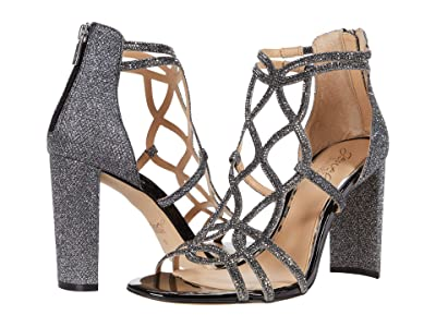 Jewel Badgley Mischka Filimena II (Pewter) Women
