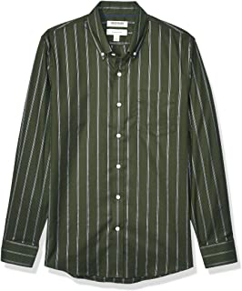 Goodthreads Slim-Fit Long-Sleeve Stretch Oxford Shirt (all Hours) Camicia, Uomo