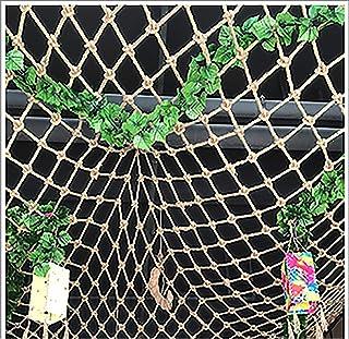 Chanvre De Chanvre Net8mm * 10cm Garden Net, Balcon Anti-automne Net De Treillis Pour Plantes D'escalade, Décor à Barreau ...
