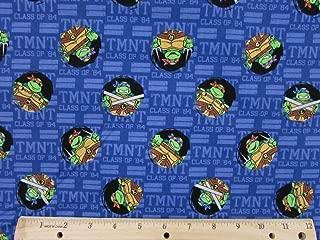 Teenage Mutant Ninja Turtles Tough Guys Fabric by The Yard