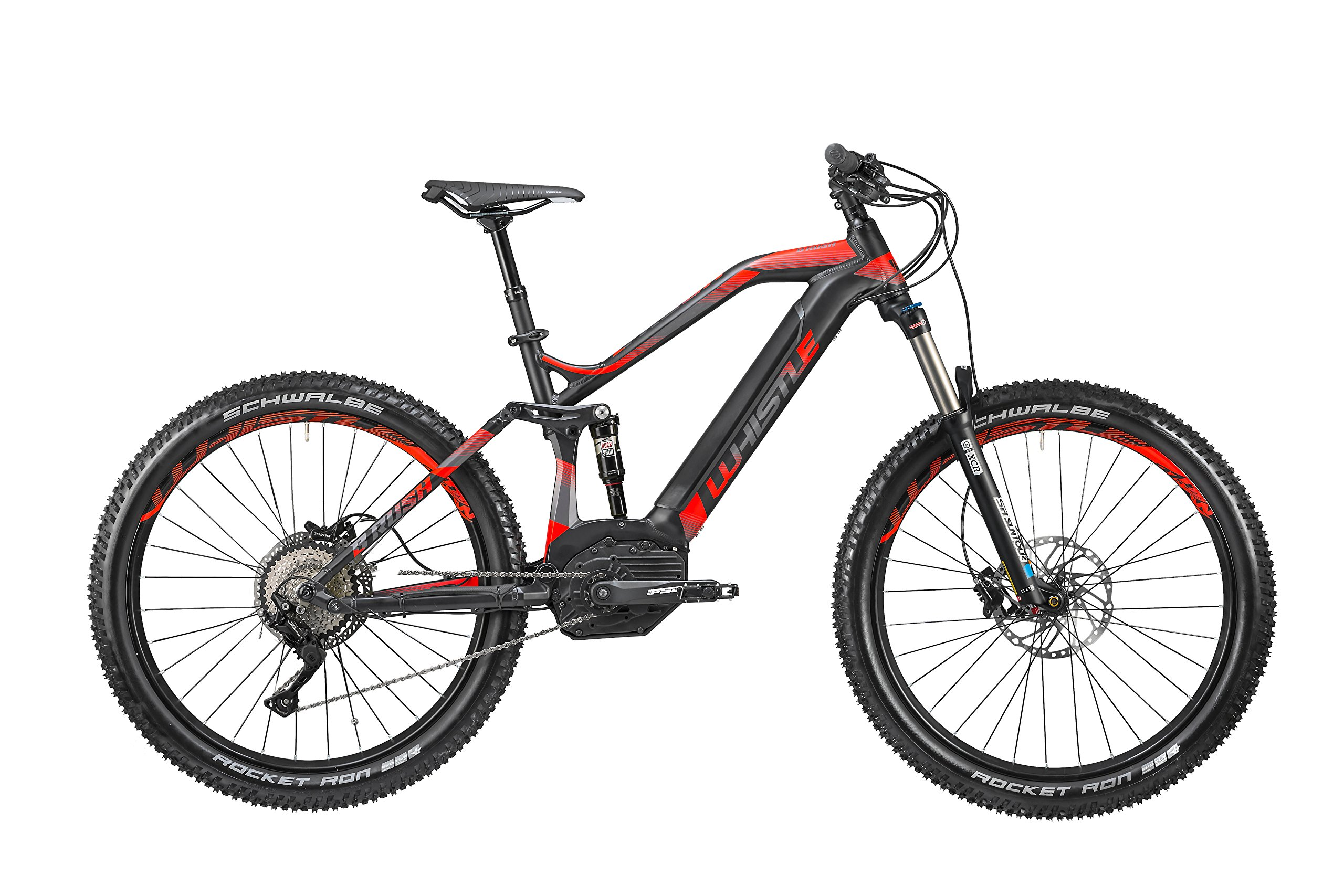 Mountain Bike eléctrica bi-ammortizzata Whistle b-rush Plus S Ltd ...