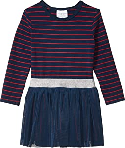 Navy/Red Striped