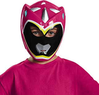 Disguise Pink Ranger Dino Charge Vacuform Child Mask-