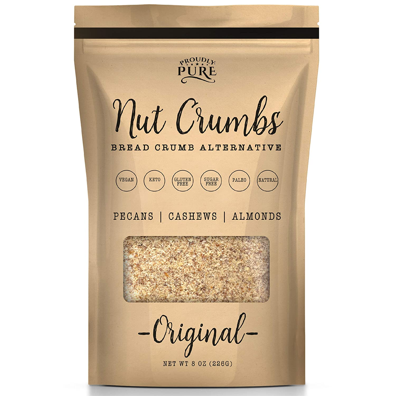 Proudly Pure Nut Bread Crumbs - Vegan Keto Kosher Alternative Arlington Mall Regular store