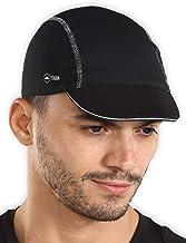 Cycling Cap - Under Helmet Bike Hat - Bicycle Helmet Liner - Biking Skull Cap with Reflective Sun Brim for Men & Women