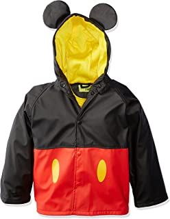 Kids Disney Character lined Rain Jacket, Mickey Mouse, 4T
