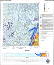 Historic Pictoric Map : Geology of The Concord 7.5-Minute Quadrangle, Jefferson County, Alabama, 2008 Cartography Wall Art : 24in x 30in