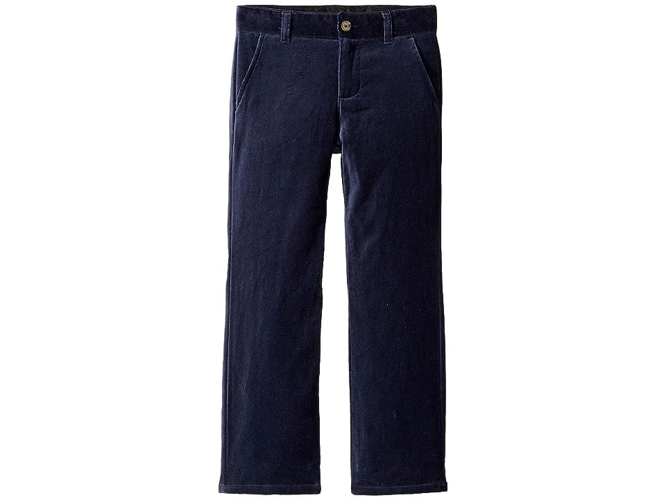 Janie and Jack Velveteen Dress Pants (Toddler/Little Kids/Big Kids) (Velveteen Blue) Boy